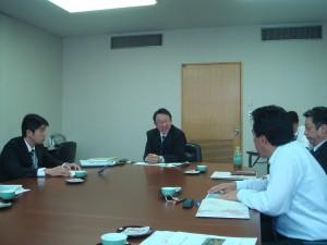 臼杵市の耕作放棄地対策について研修