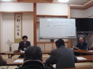 逓寿会研修会に参加「延命治療と尊厳死」を拝聴