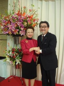 星川恵美会長と記念撮影をさせて頂きました