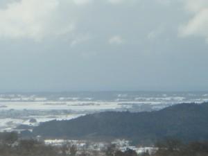 美しい北庄内の冬景色に改めて感激