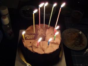 本日めでたく55回目の誕生日を迎えました