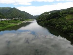 本当に感激、四万十川の美しさ