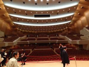 オーケストラ演奏ホールの日本最高峰サントリーホール視察